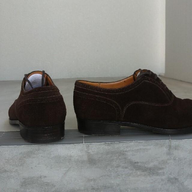J.M. WESTON(ジェーエムウエストン)のJMウエストン 6 1/2E 茶 スエード メンズの靴/シューズ(ドレス/ビジネス)の商品写真