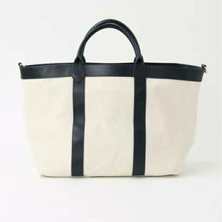 DEUXIEME CLASSE - CELERIトートバッグ、、ネイビー1回美品