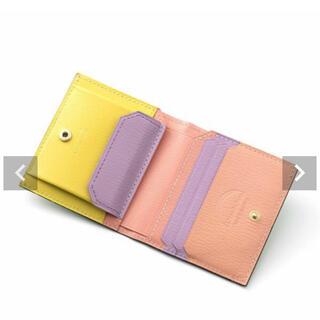☆川人美帆さん別注☆ラルコバレーノ二つ折りミニ財布