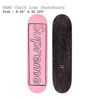 Supreme - Supreme 21s/s KAWS Chalk Logo Skateboard