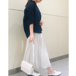 Noble - NOBLE シャイニーギャザースカート IENA Spick