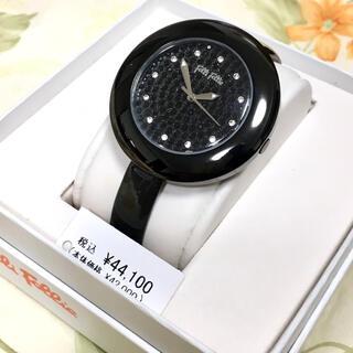 フォリフォリ(Folli Follie)の美品☆ビッグフェイスお洒落クールなフォリ フォリレディース腕時計☆電池交換済(腕時計)