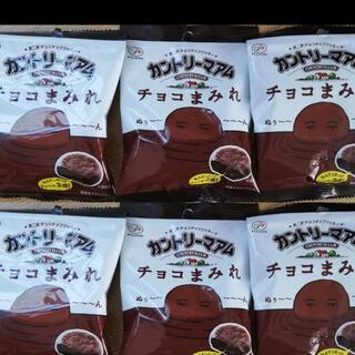 不二家 カントリーマアム チョコまみれ 6袋(菓子/デザート)