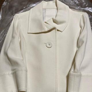 ロートレアモン(LAUTREAMONT)のロートレアモン リューデベー Mサイズ 白 ジャケット ショートコート(その他)