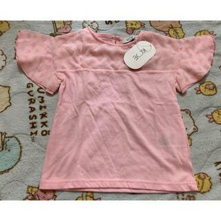 シフォンレイヤードTシャツ 110サイズ(Tシャツ/カットソー)