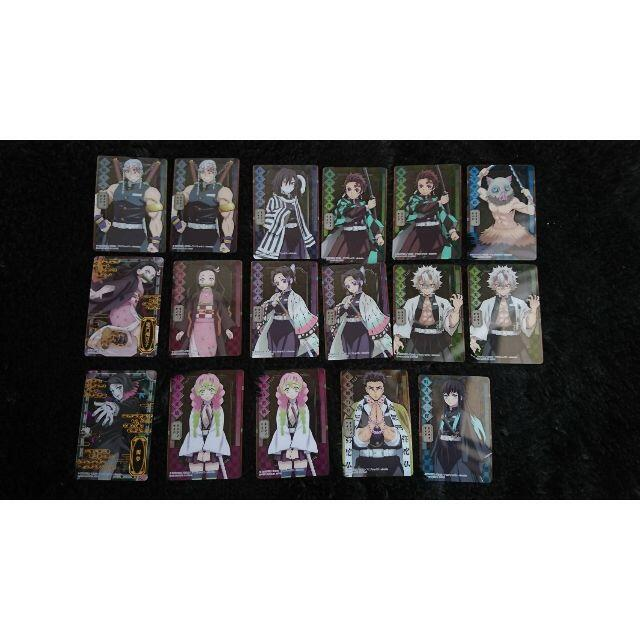 集英社(シュウエイシャ)の鬼滅の刃 ステンドグラスカード エンタメ/ホビーのアニメグッズ(カード)の商品写真