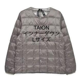 coen - TAION タイオン クルーネック インナーダウンジャケット
