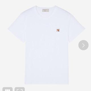 MAISON KITSUNE' - メゾンキツネ ティーシャツ 白 Lサイズ