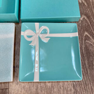 Tiffany & Co. - ティファニー スクエアプレート2枚セット