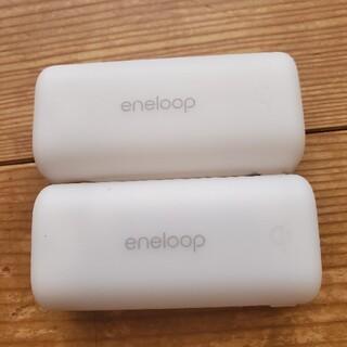 サンヨー(SANYO)のSANYO 無接点充電器 NC-WL01 Qi キャリングケース 二個セット(バッテリー/充電器)