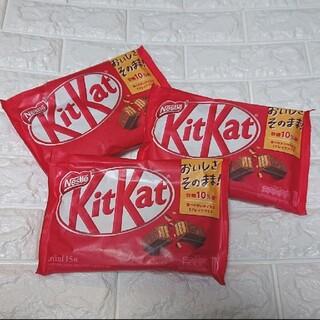 Nestle - キットカット15枚入り☆3袋☆チョコレート☆ネスレ☆ティータイム☆お家時間