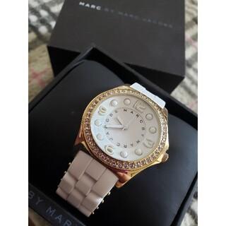 マークバイマークジェイコブス(MARC BY MARC JACOBS)の【新品電池交換済】MARC BY MARCJACOBS レディース 腕時計(腕時計)
