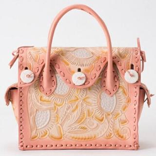 GRACE CONTINENTAL - グレースコンチネンタル カービングバッグ2020SS ピンク 美品
