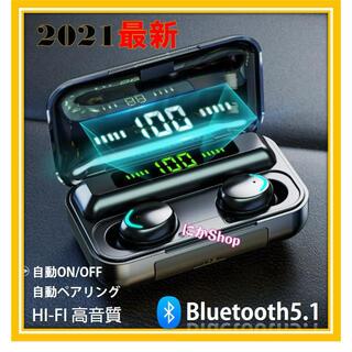 ★ワイヤレスイヤホン LED Bluetooth 5.1ノイズキャンセリング