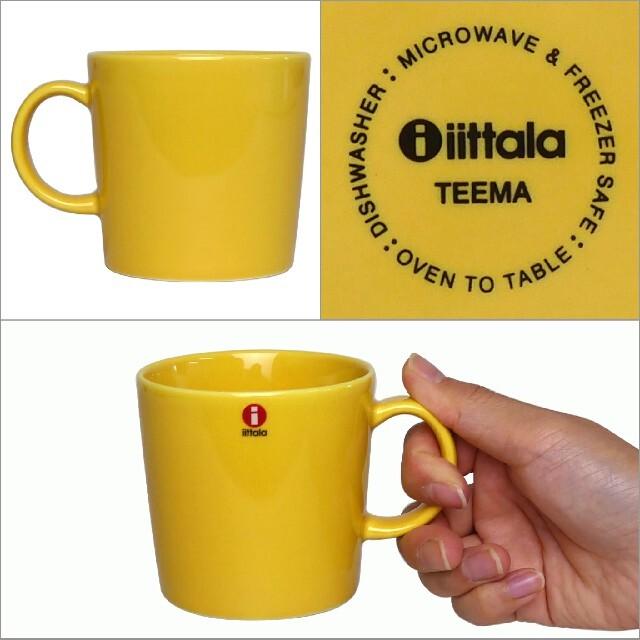 iittala(イッタラ)のイッタラ ティーマ マグカップ 300ml 黄色 ハニー iittala お洒落 インテリア/住まい/日用品のキッチン/食器(食器)の商品写真