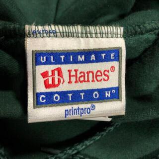 ヘインズ(Hanes)の90's 無地 スウェット パーカー ヘインズ Hanes グリーン 緑(パーカー)