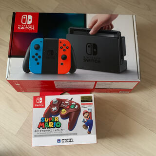 Nintendo Switch - Nintendo Switch ネオンブルー/旧型