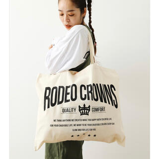 RODEO CROWNS WIDE BOWL - 【Web限定】ロデオ★ECO BAG(L)