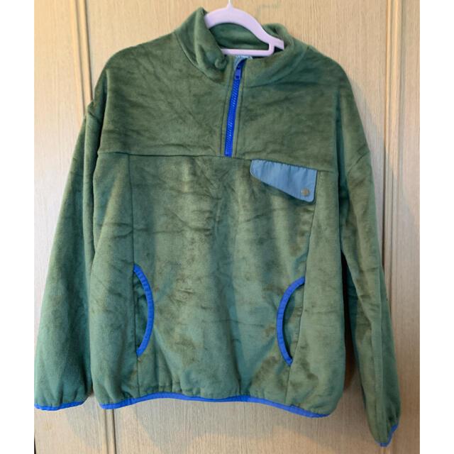Branshes(ブランシェス)のbranshes ボアトレーナー 150 キッズ/ベビー/マタニティのキッズ服男の子用(90cm~)(Tシャツ/カットソー)の商品写真
