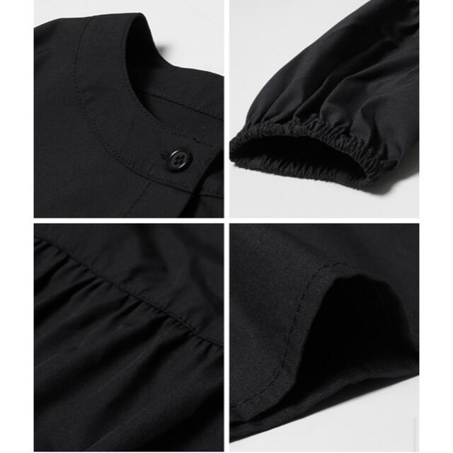cocaコカ・ティアードフリルブラウス ノーカラー フレア Aライン レディースのトップス(シャツ/ブラウス(長袖/七分))の商品写真