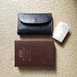 ホワイトハウスコックス(WHITEHOUSE COX)のホワイトハウスコックス ミツ折り財布(折り財布)
