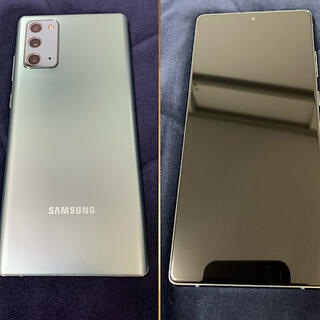 SAMSUNG - Galaxy note 20 5G 美品