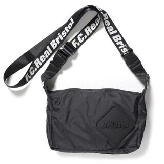 F.C.R.B. - FCRB EMBLEM 2 WAY SHOULDER BAG 黒 19aw