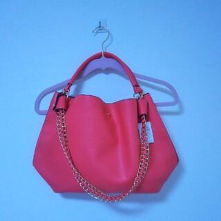 ロペ(ROPE)の【新品・未使用】ROPE ピンク 鞄(ハンドバッグ)