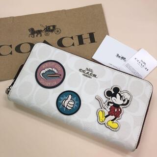 COACH - COACH コーチ 新品 最新作 ディズニー限定 財布