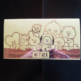 BT21 カッティングステッカー②
