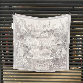 エルメス(Hermes)の新品同様 エルメス 入手困難 カレ70 エクスリブリス・アトランティス スカーフ(バンダナ/スカーフ)