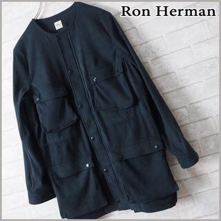 Ron Herman - 美品【Ron Herman ロンハーマン】ポリスウェード ノーカラーJKT