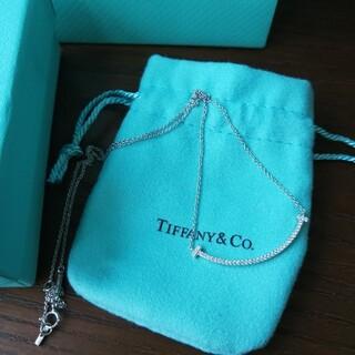 Tiffany & Co. - 美品 TIFFANY&CO  ネックレス/シルバー