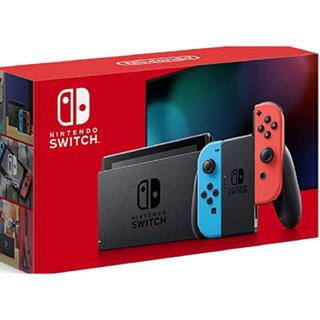 Nintendo Switch - 【24時間以内発送】任天堂 Nintendo Switch ネオンブルー/レッド