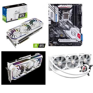 エイスース(ASUS)の最終値下げ ROG-STRIX RTX 3080 ガンダムコラボ3点セット 新品(PCパーツ)