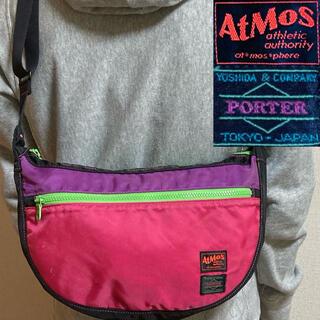 PORTER - 美品!PORTER ポーター×アトモス 限定コラボ マルチカラーショルダーバッグ