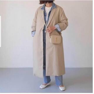 DEUXIEME CLASSE - レア argue   robe wide shilhoutte coat 美品