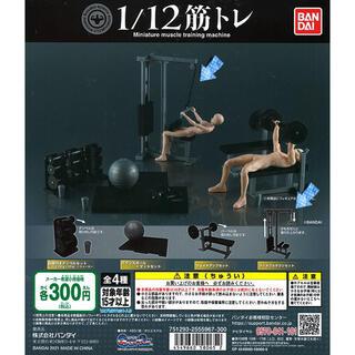 BANDAI - 1/12 筋トレ ラットプルダウン セット 新品未開封 ガチャガチャ