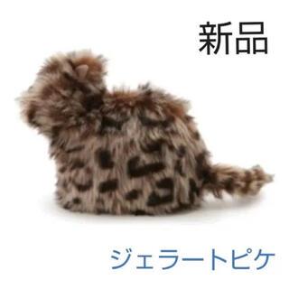 gelato pique - 新品 ジェラートピケ キャット ファン ポーチ 今期 人気 可愛い 猫