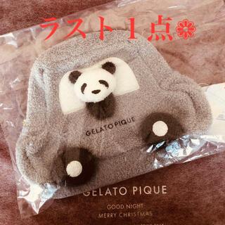 gelato pique - ジェラートピケ*【Kids】ベビモコ*パンダ&くるまモチーフ*リュック*新品