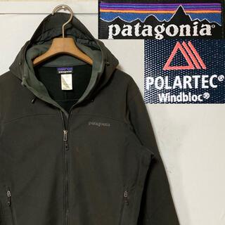 patagonia - 名品!patagoniaパタゴニア ポーラテックアズ フーディ ブラック