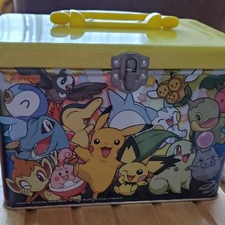 ポケモン - ポケモン 缶ケース BOX オモチャ入れ