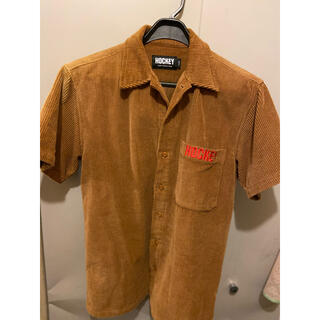 Supreme - HOCKEY コードュロイワークシャツ