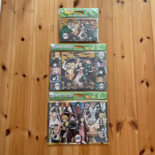 【新品未使用】鬼滅の刃 パノラマパズル ピクチュアパズル アポロ社 3個セット
