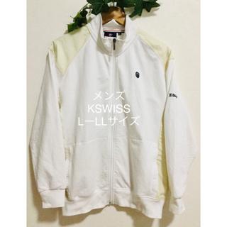 K-SWISS - Kswiss ケースイス Lサイズ LLサイズ ジャンパー メンズ トップス