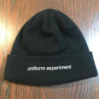 ユニフォームエクスペリメント(uniform experiment)のuniformexperiment ニットキャップ(ニット帽/ビーニー)