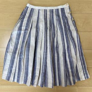MARGARET HOWELL - MHL リネン混スカート