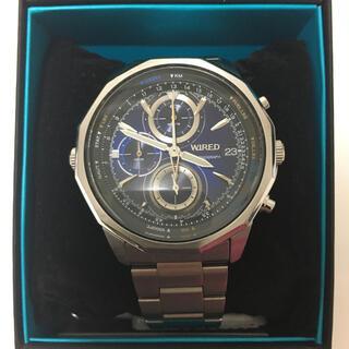 セイコー(SEIKO)のWIRED 腕時計 THE BLUEスカイモデル AGAW426(腕時計(アナログ))