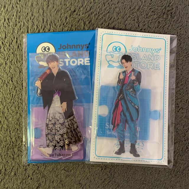 Johnny's(ジャニーズ)の深澤辰哉 アクリルスタンド2点セット エンタメ/ホビーのタレントグッズ(アイドルグッズ)の商品写真