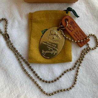 イルビゾンテ(IL BISONTE)のイルビゾンテ★プレートネックレス★真鍮★k(ネックレス)